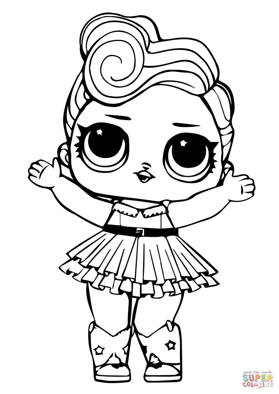 Lol Omg Doll Coloring Pages Di 2020 Buku Mewarnai Halaman Mewarnai Warna