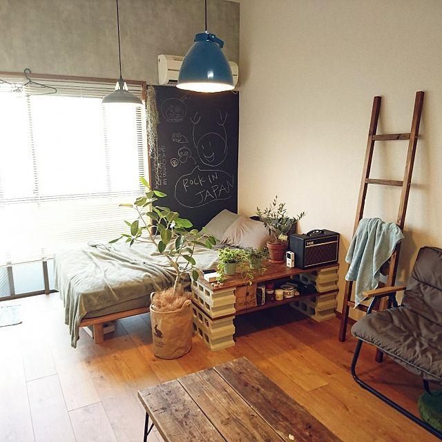 寝室をDIY!和室賃貸でもできる原状回復実例30選 | 寝室DIY | 部屋 ...