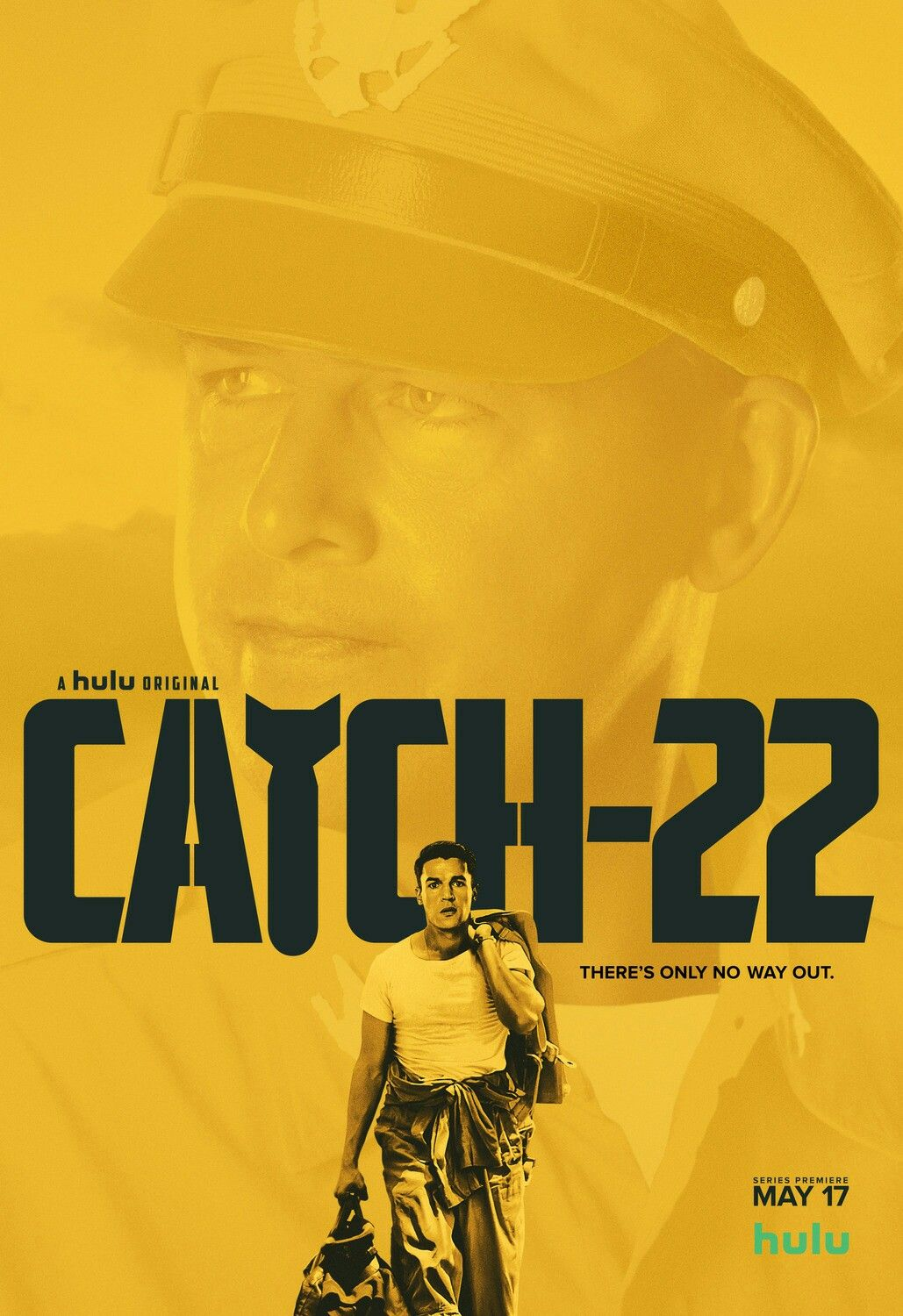Five new posters for the new hulu limited series catch 22