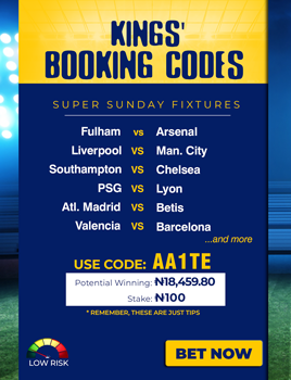 Kings sports betting fixtures today 7 minus 20 betting term