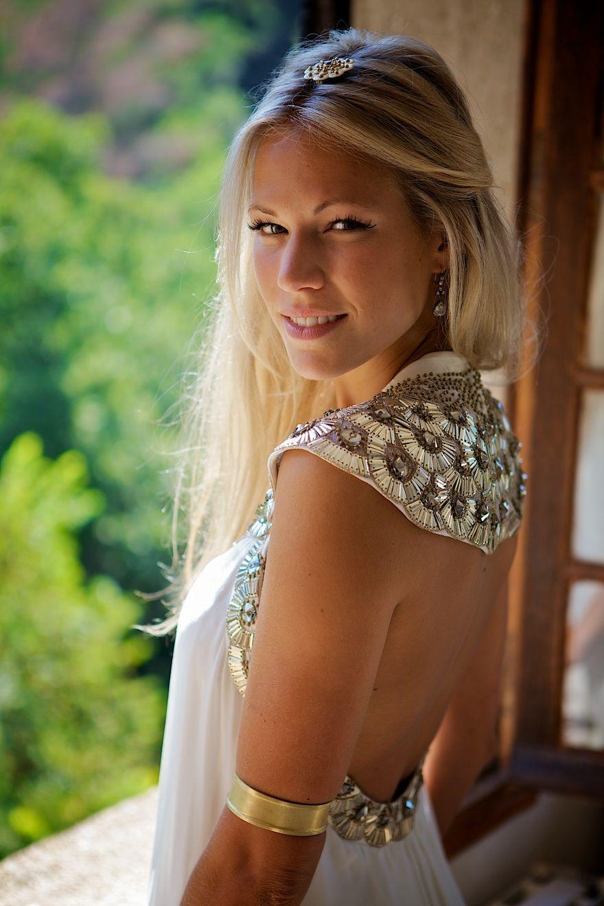Alice Keswick Temperley London Bespoke Goddess Dress