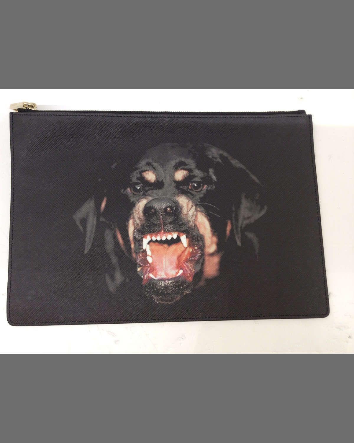 Rottweiler Print Clutch - Only One Size / Multi Givenchy Clearance Free Shipping KSVAlyiHj