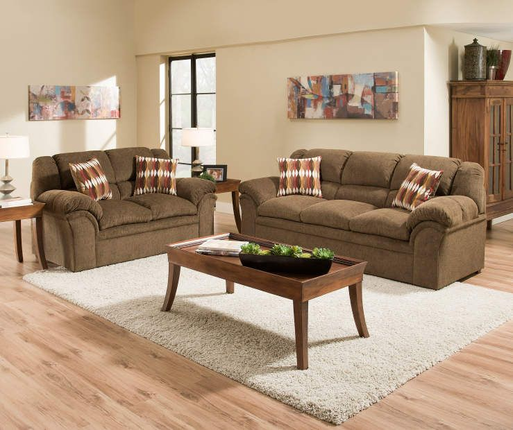 Best I Found A Simmons Verona Chocolate Chenille Living Room 640 x 480