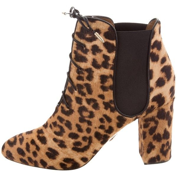 Outlet Lowest Price Enjoy Sale Online Pre-owned - Lace up boots Aquazzura hhFmG2r