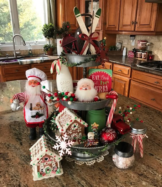100+ Rustic Christmas Decor Ideas that Brings Back The Traditional Festive Vibe In Your Home #rusticchristmas