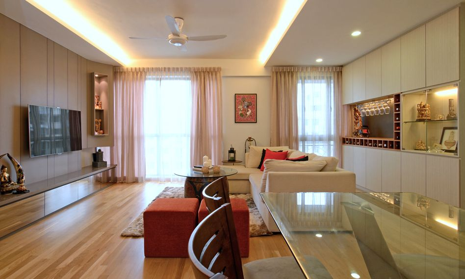 Indian Crib 3 Cozy Modern Home In Singapore Developed For An