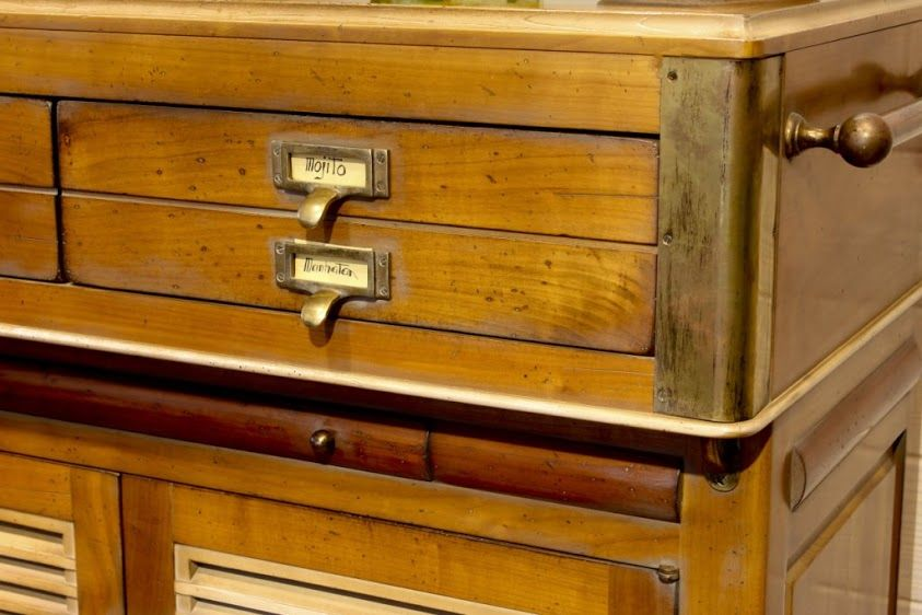 Comptoir - Bar en bois Fabrication meubles Fabrication Française