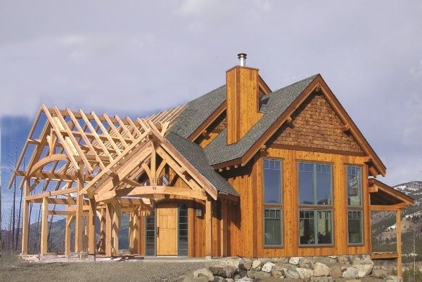 Hybrid Timber Frame Home Plans Hamill Creek Timber Homes Timber Frame Home Plans Timber House Timber Frame Cabin