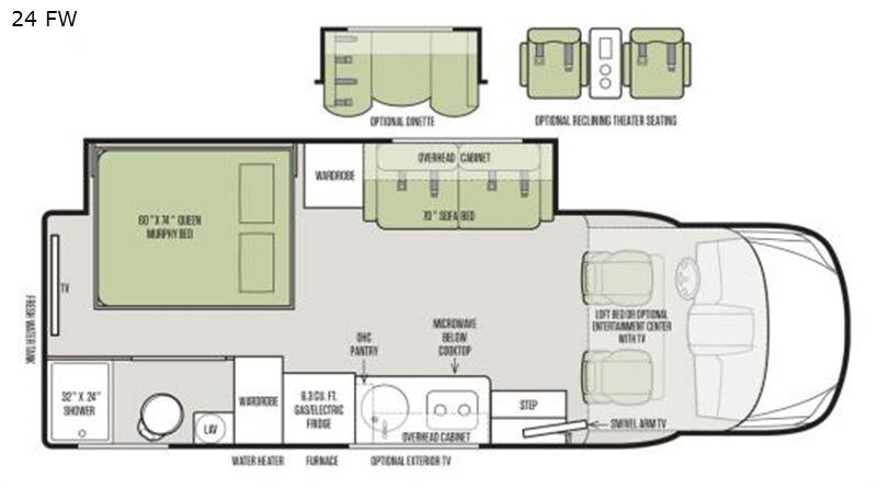 Best of tiffin rv wayfarer floor plans and description in