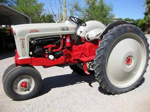 1956 Ford 640 Tractor Fenders : Ford high crop tractor obsession pinterest