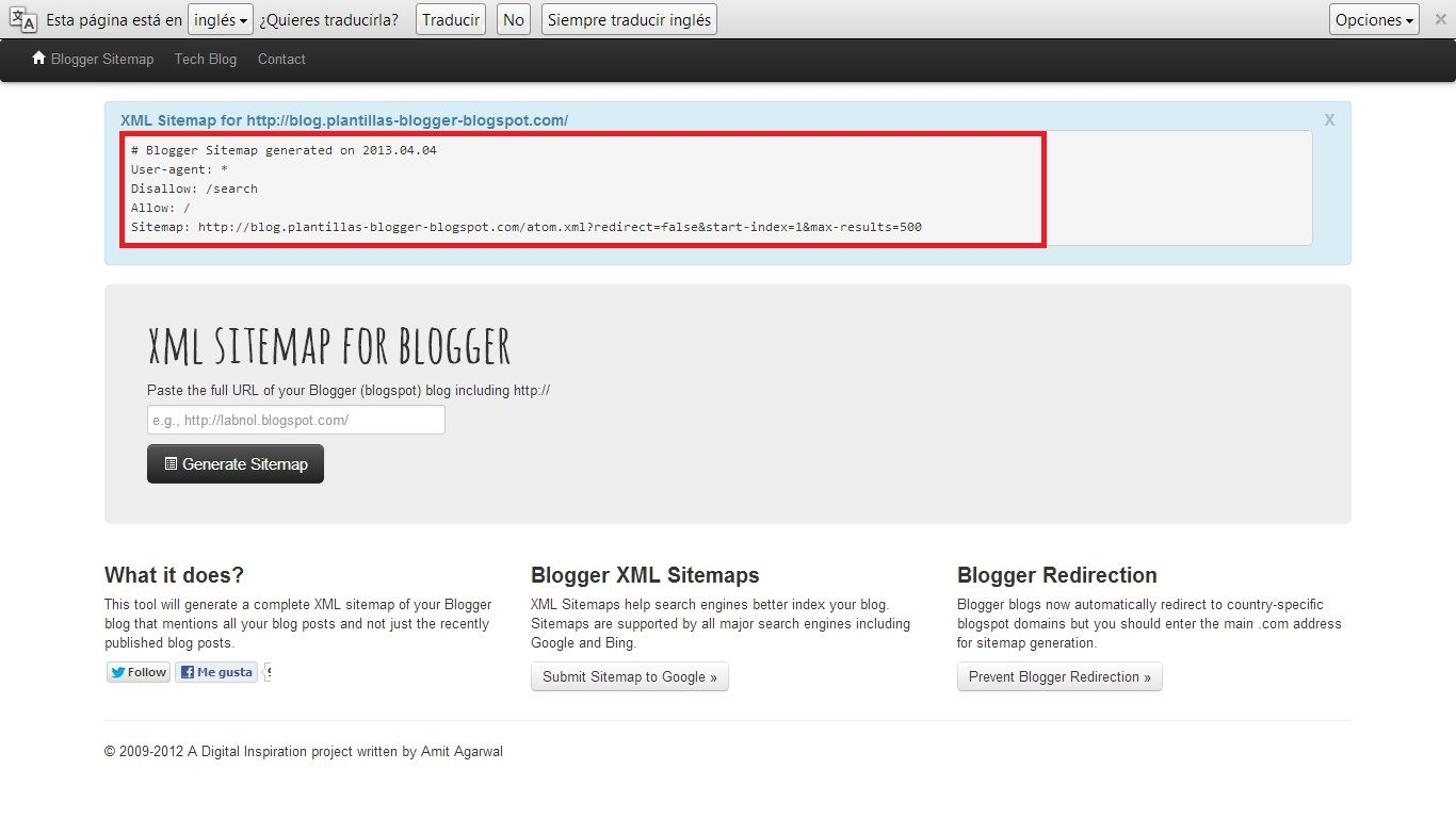 XML Sitemap de Google para Blogger | plantillas blogger | Pinterest