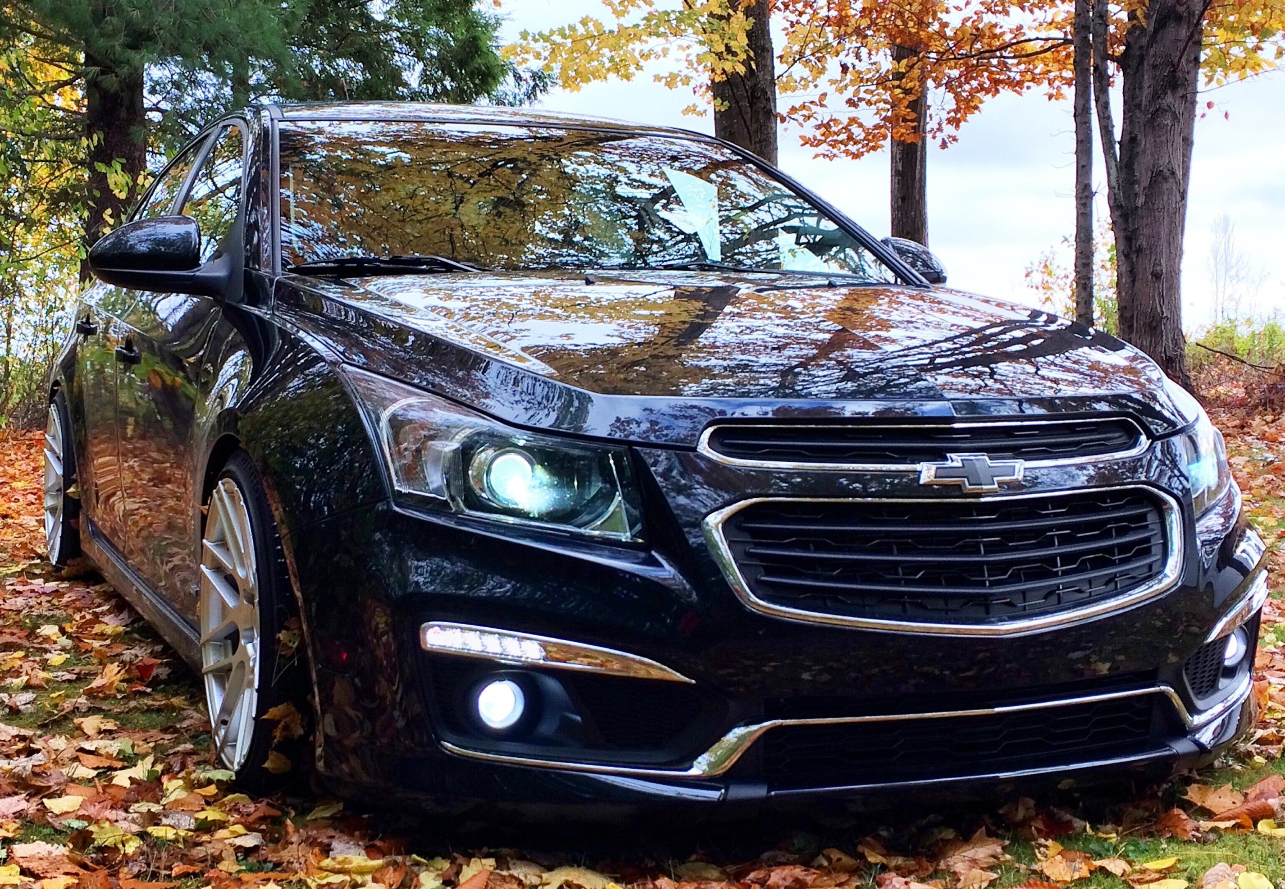 Lowered 2015 Chevy Cruze 2lt Rs 1 4t 6spd Manual Mods