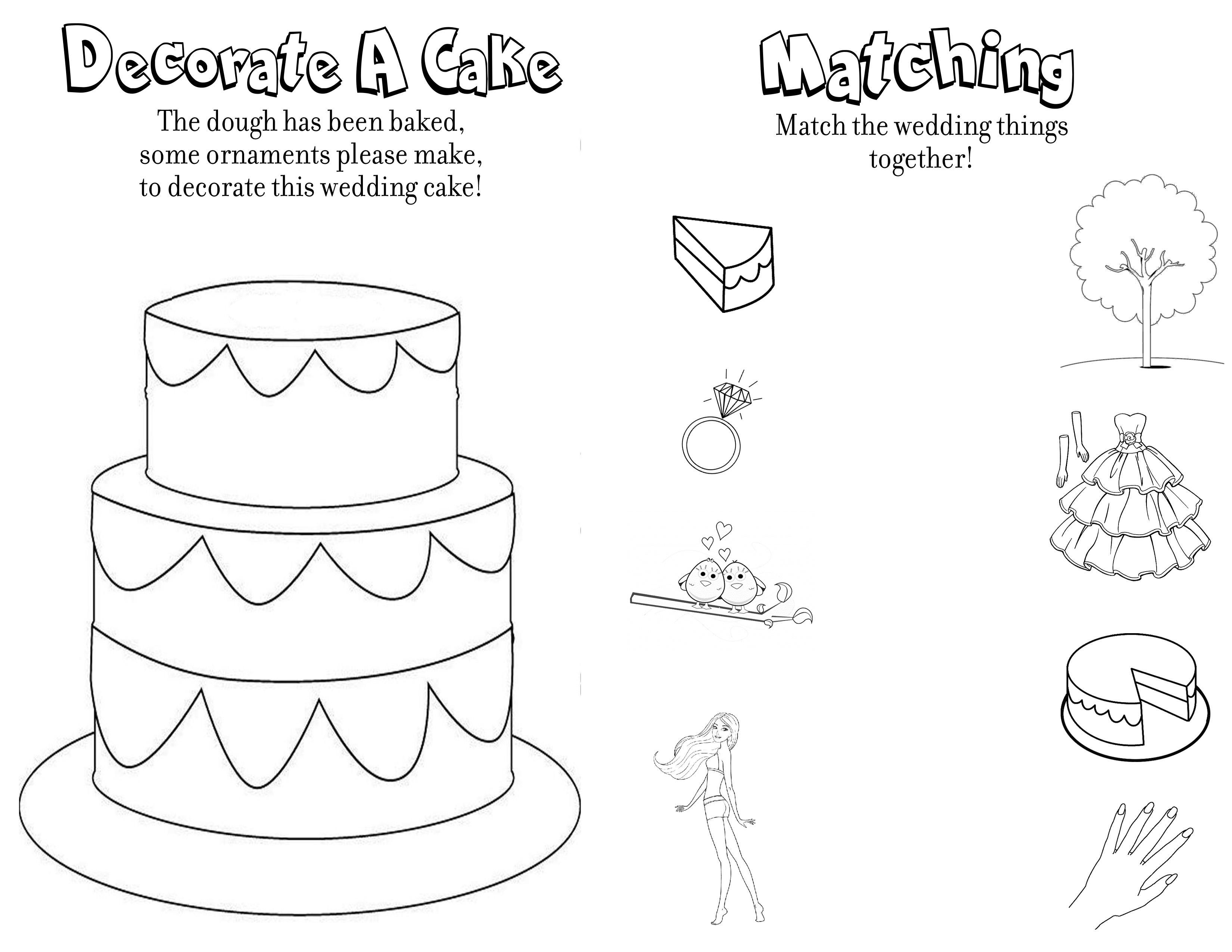 51 Printable Wedding Colouring Book In 2020 Wedding Coloring Pages Kids Wedding Activities Personalized Coloring Book