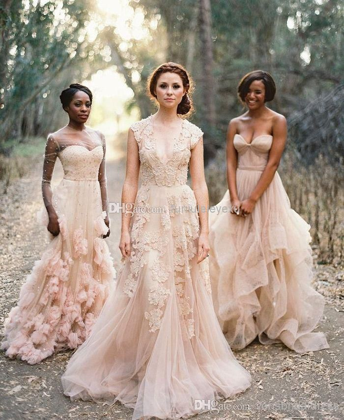371010a8cb9e8 Cheap Vintage Deep V Cap Sleeves Pink Lace Applique Tulle Sheer Wedding  Dresses A Line Reem Acra Latest Blush Wedding Bridal Dress Gown Best  Wedding Gowns ...