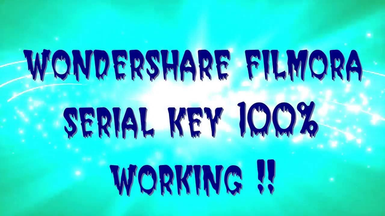 Wondershare Filmora ✓ serial key 100% working ✓ | PC tricks | Neon