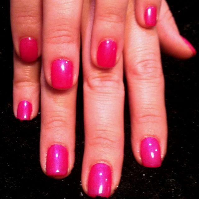 Tutti Frutti Nails: Shellac Color Combo: Decadence With Tutti Frutti On Top