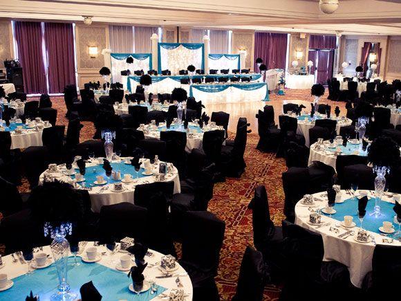 Wedding Reception Decor Ideas And Black