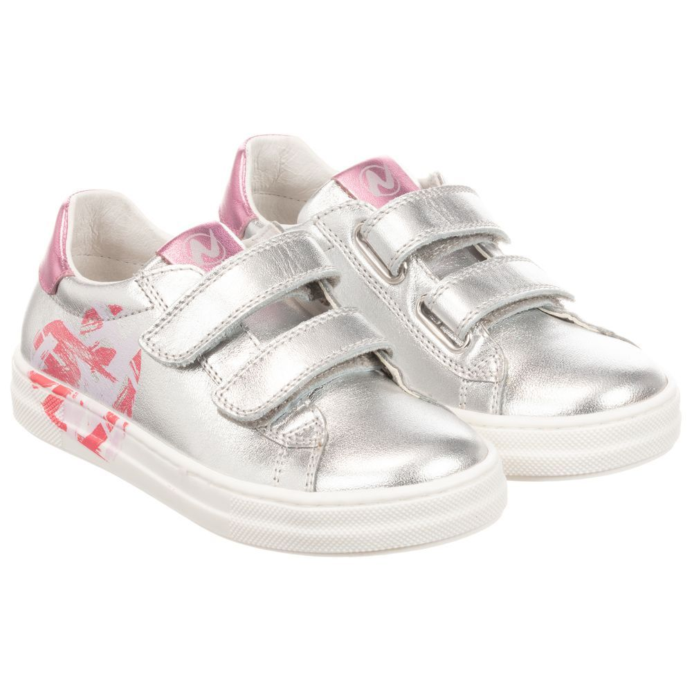 Childrens shoes, Leather trainers