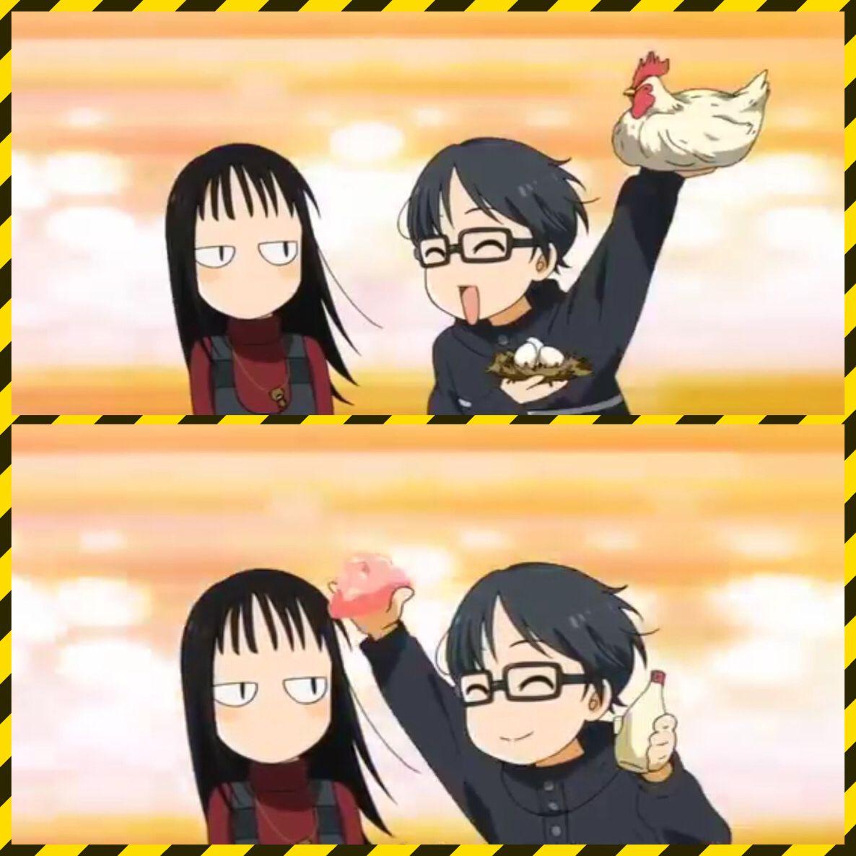 Emi and Kousei Shigatsu Wa Kimi No Uso