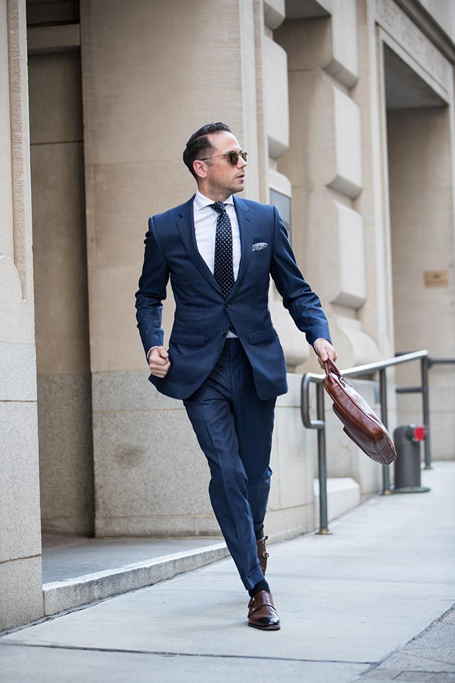 Back To Business Classic Suit Style