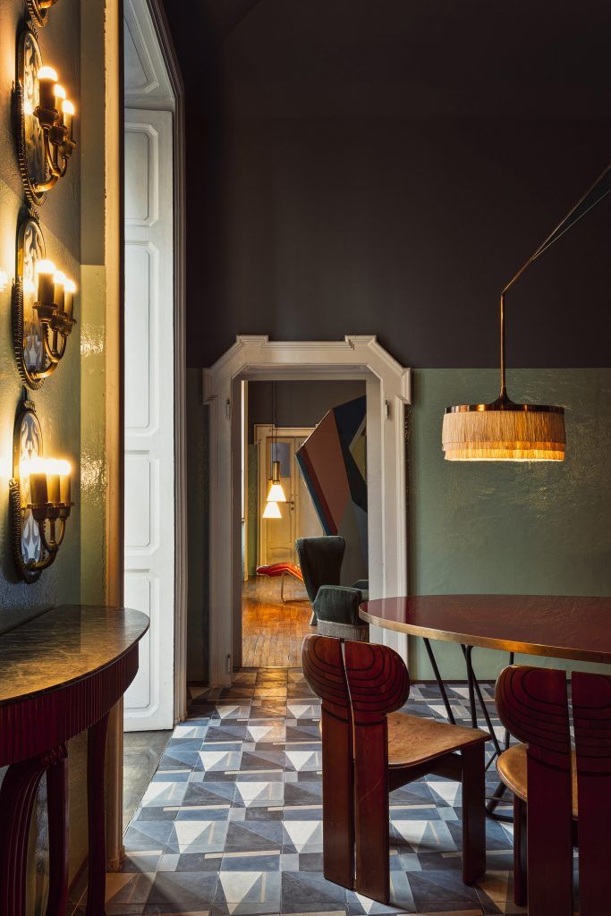 Over the course of two years, Moran and Salci transformed a five-story mansion in Paris' Second Arrondissement. Once home to King Louis XV's foreign minister, the space has been repurposed into the art deco–inspired Hôtel Saint-Marc. Photograph: Simone Fiorini