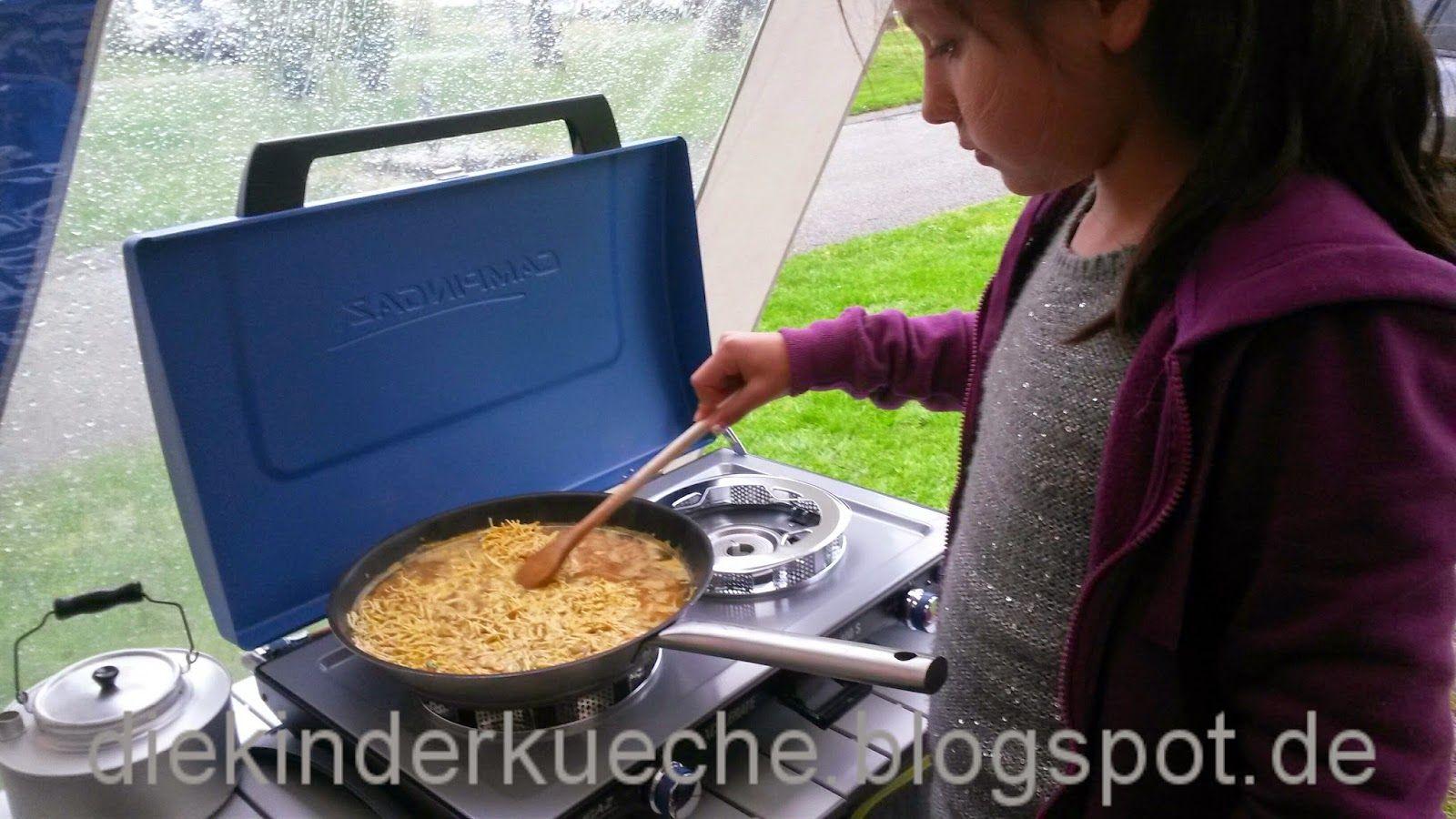Outdoor Küche Camping : Outdoor küche auf dem campingplatz maggi asia nudeln camping essen