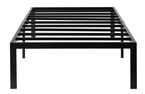 Olee Sleep Heavy Duty Steel Slat Bed Frame T3000 Ol14bf04t Twin You Can Find Out More Details At The Link Of The Image Bed Frame Cool Beds Bed Slats