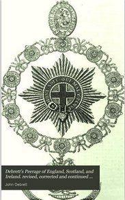 1840 Debrett's Peerage of the UK.  via Google Books (PD-150)    ©suzilove.com