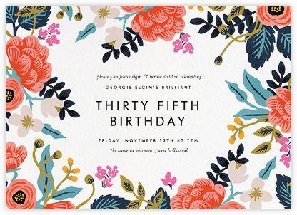 Birthday Invitation Pictures Templates Canva Wording