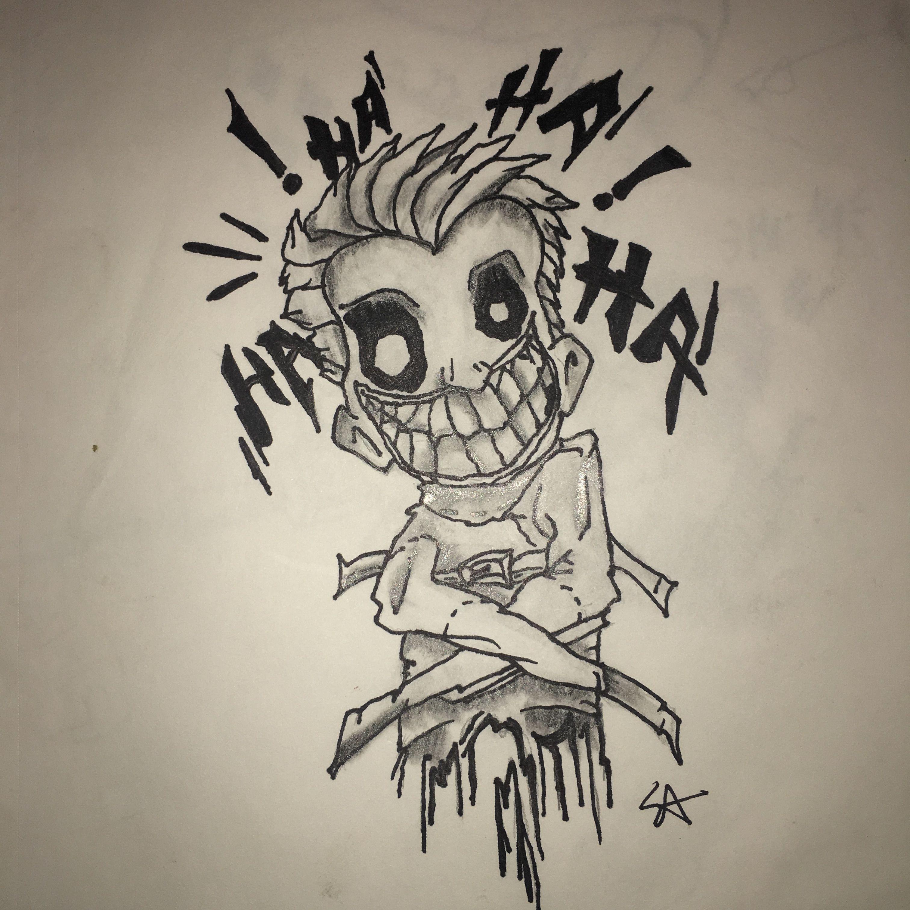 Drawing Tattoo Joker Ideas To Draw In 2019 Drawings Tattoo