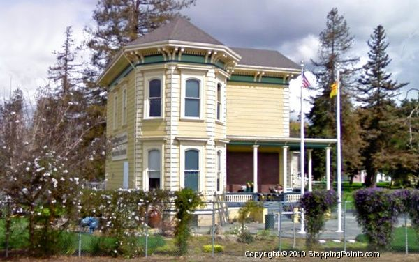 The Edwin Markham House, also known as the Viet Museum, now used as the Poetry Center of San Jose, California.