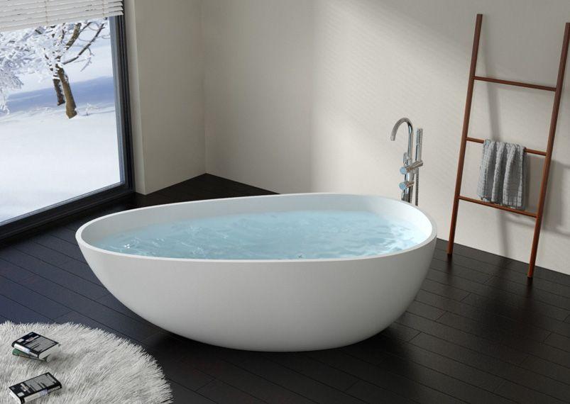 Modern & Luxury Freestanding Stone Resin Bath Tubs & Sinks ...