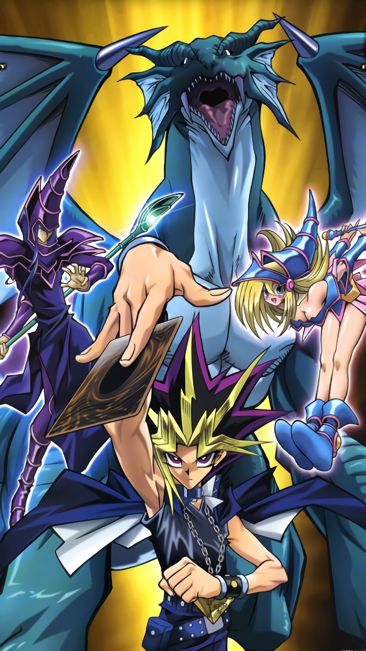 yu gi oh duel monsters atem black magician black magician
