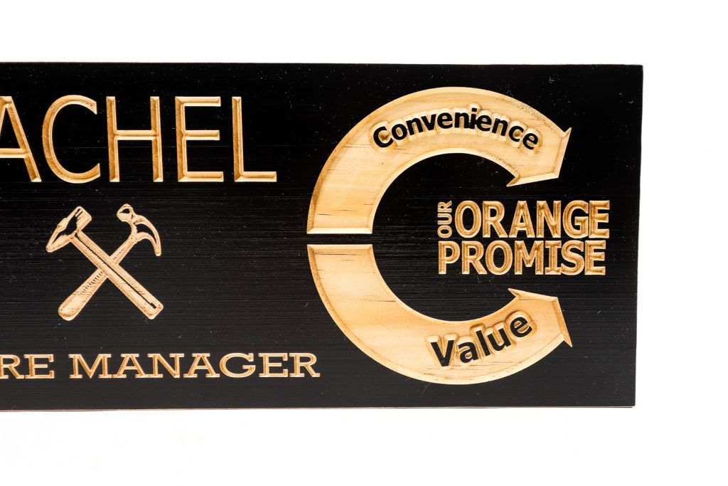 Home depot store manager sign custom wood designs home