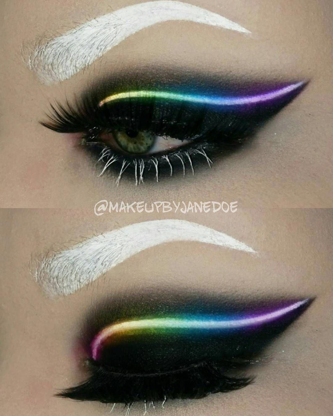 Neon Makeup Trend Photos Best Eyeshadow Looks Best