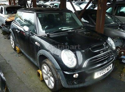 Ebay Bmw Mini Cooper S R53 Black 2004 Breaking For Spares Parts