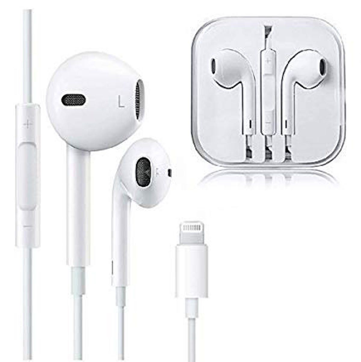 For Iphone 6 7 8 Plus Iphone X Xs Max Xr 11 Wired Headphone Headset Earbuds Gift Earbud Headphones Apple Iphone 6 Iphone Wireless