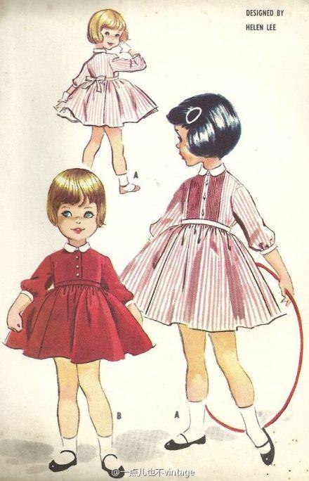 一点儿也不vintage的微博_微博 | Sewing patterns | Pinterest | Helen ...