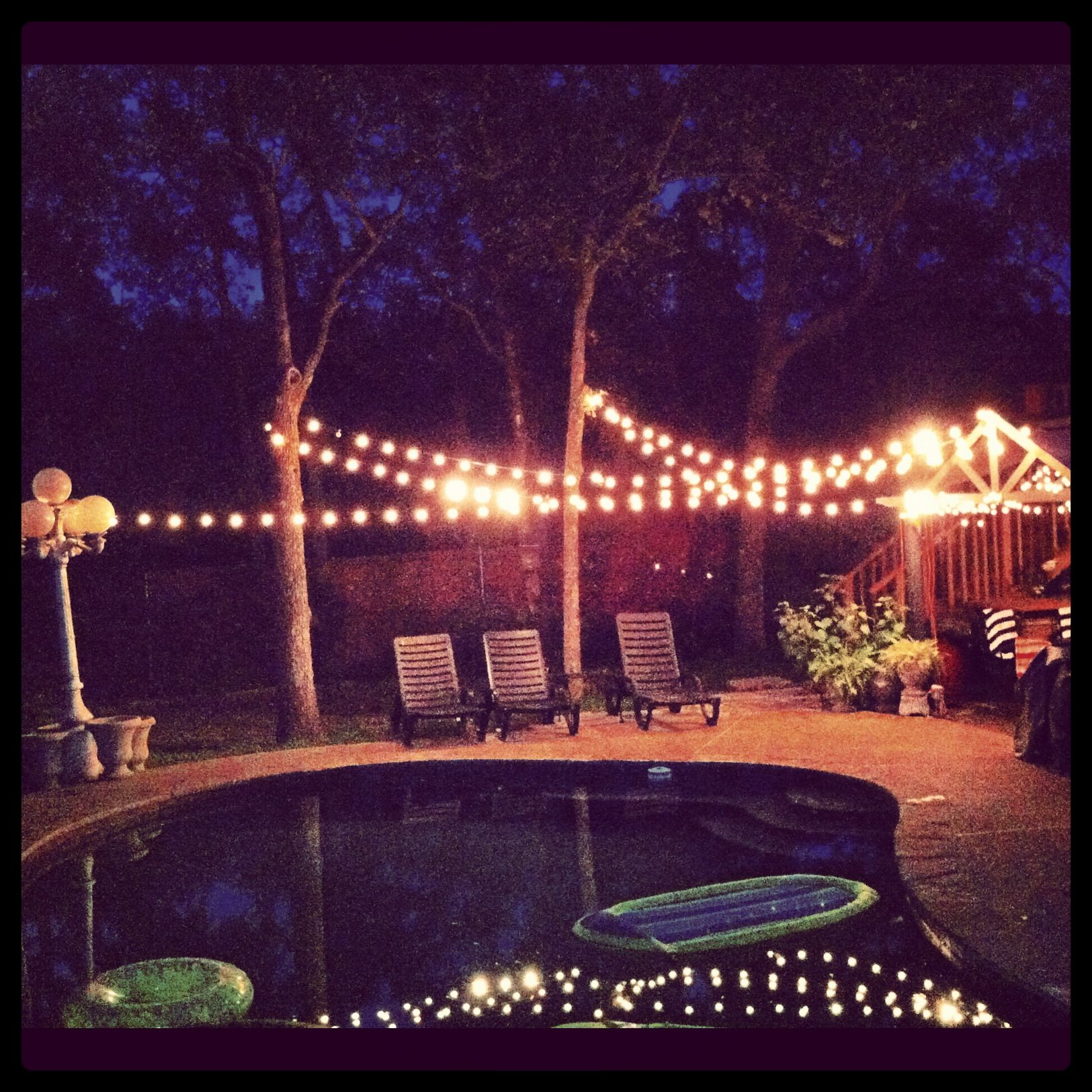 Backyard Party Lighting Ideas
