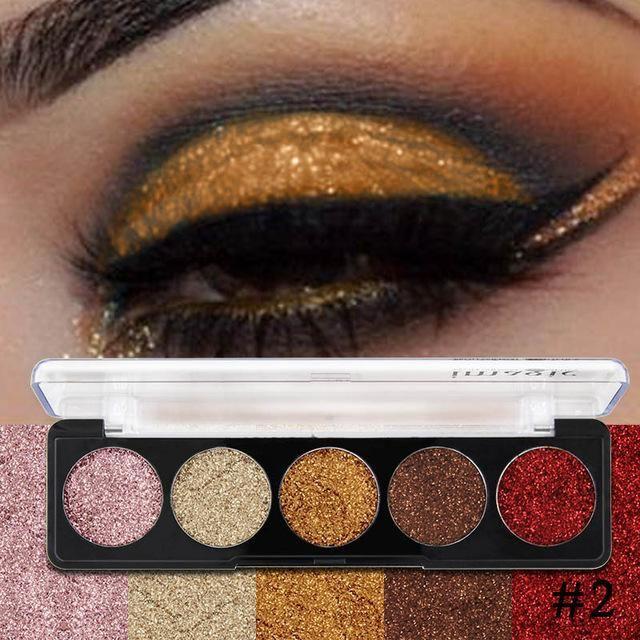 Glitter Eye Shadow Bright Rainbow Eye Shadows Cosmetic Make up Pressed Glitters Diamond Rainbow Eye shadows