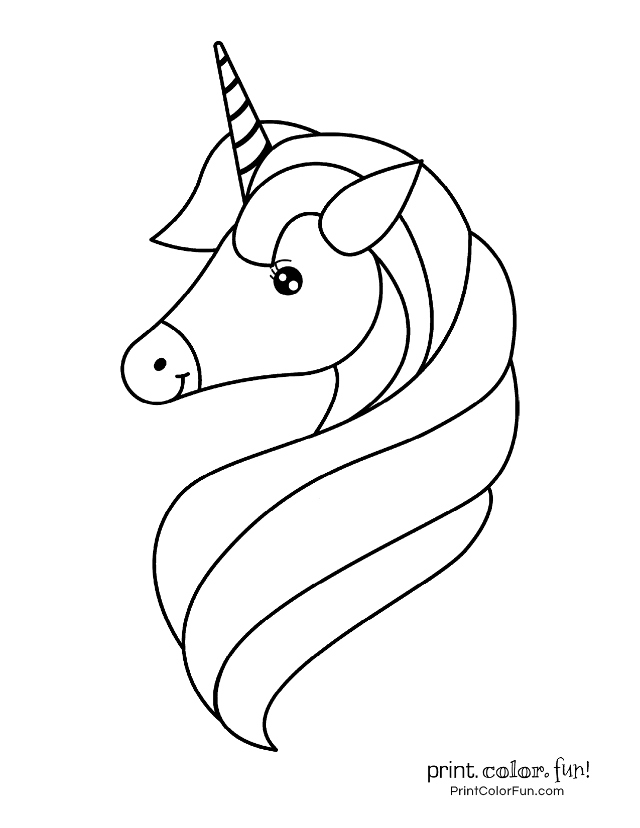 100 Magical Unicorn Coloring Pages The Ultimate Free Printable Collection At Print Color Fun Co Unicorn Coloring Pages Coloring Pages Heart Coloring Pages