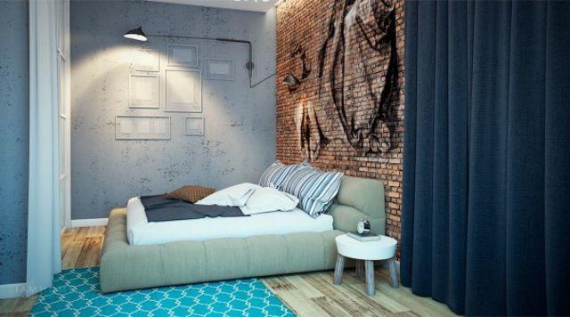 Wandgestaltung im Schlafzimmer \u2013 82 Ideen zum Einrichten Pinterest - schlafzimmer wand ideen