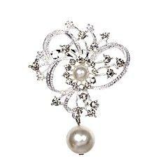 Fashion Diamond Brooch (Color Random)
