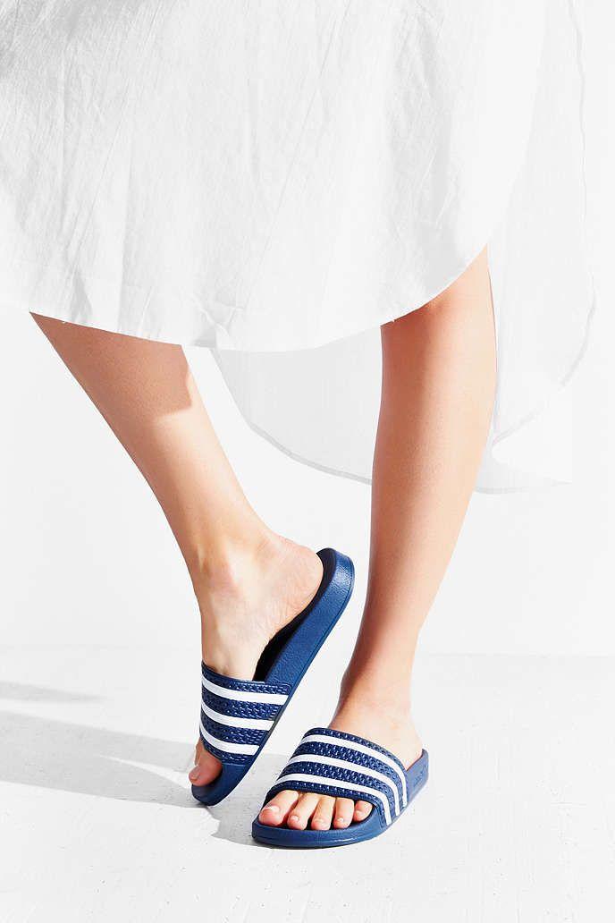 126b944fb adidas Originals Adilette Pool Slide Sandal - Vegan shoes