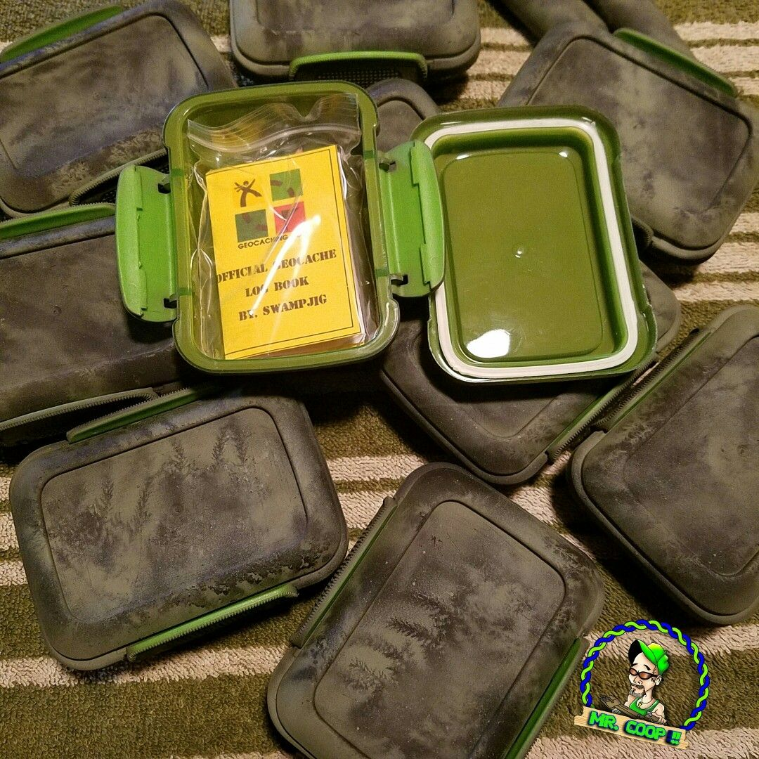 Made a few new caches. The perfect small Geocaching hide