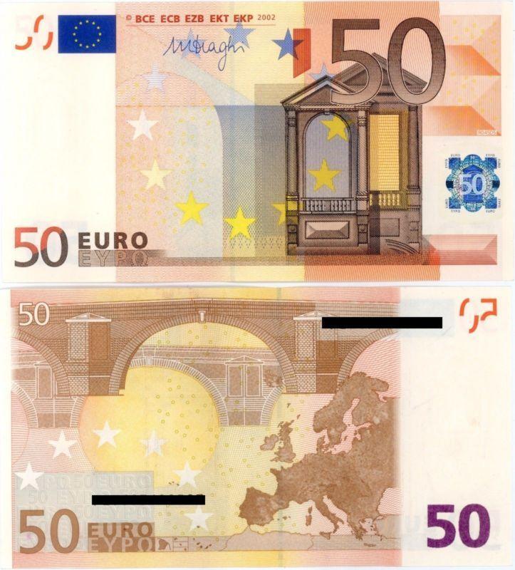 50 Euro Banknote Rundom Serial Number Original Used Https Rover