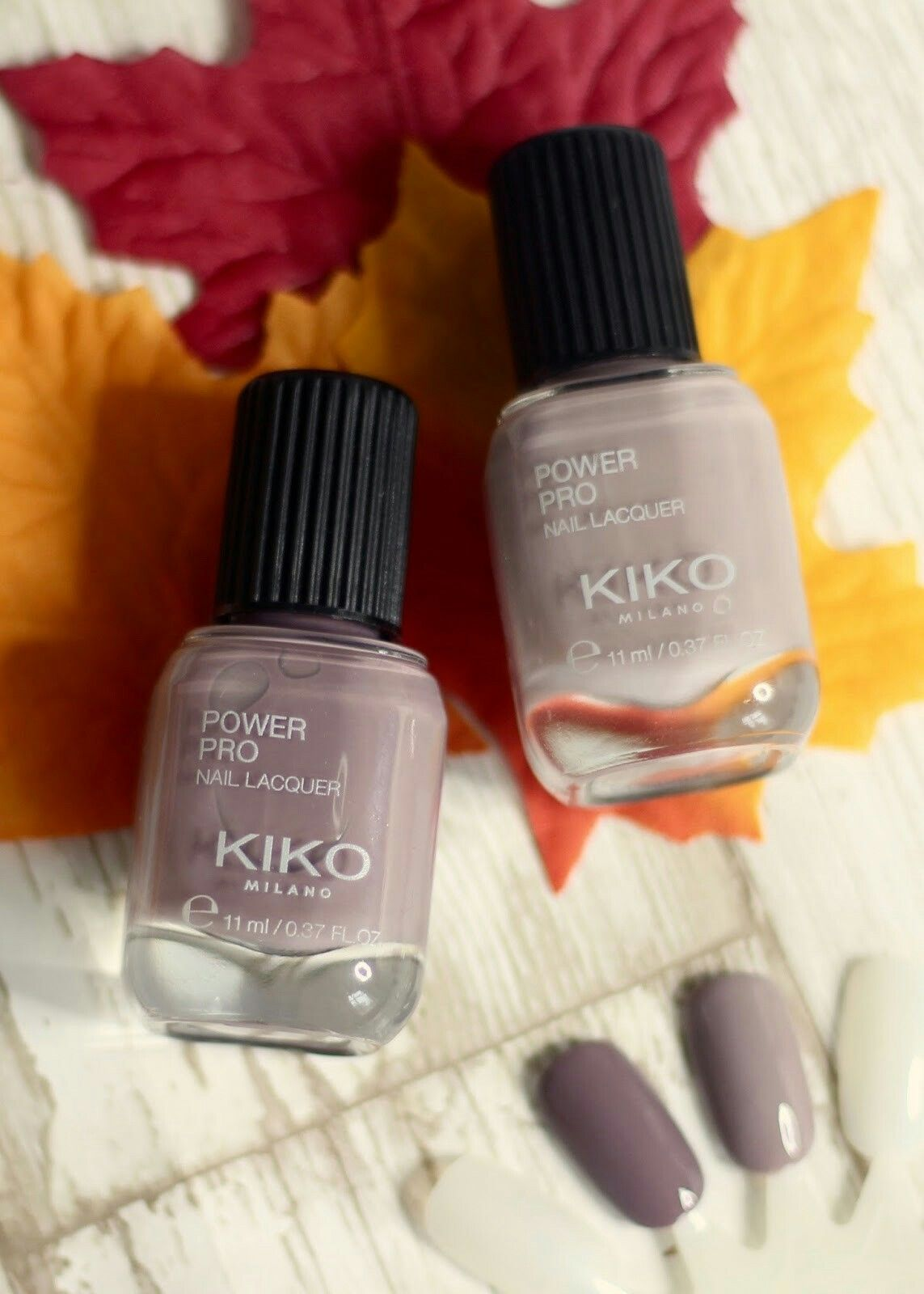 Kiko Power Pro Nail Lacquer 29 Grigio rosato 30 Taupe | Nails ...