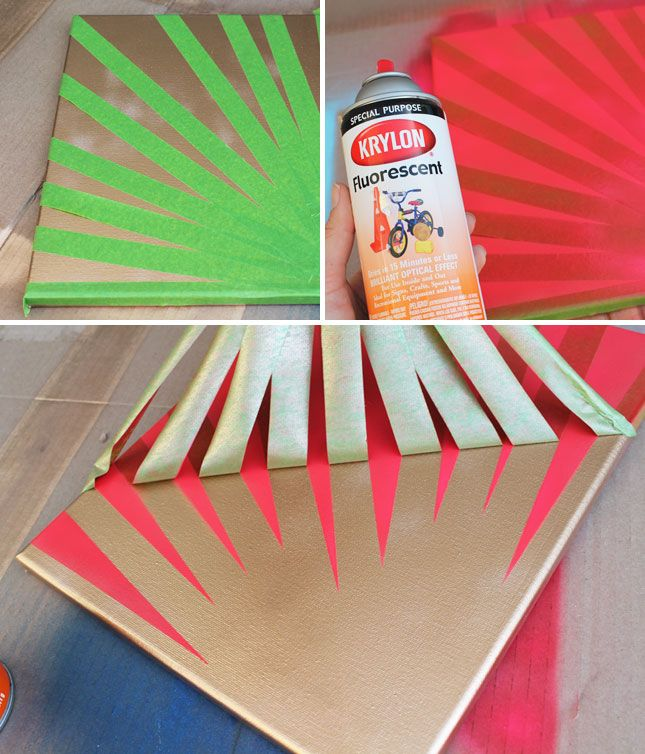Home is Where the Art Is: 4 Simple Ways to Make Spray Paint Wall ...