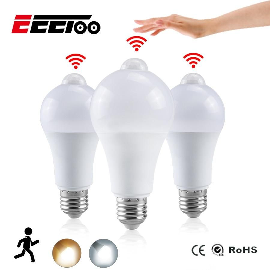 Eeetoo Night Light Led Bulb Pir Sensor Motion Ac 85 265v B22 E27 Led B Homeinsides Led Night Light Led Lights Led Bulb