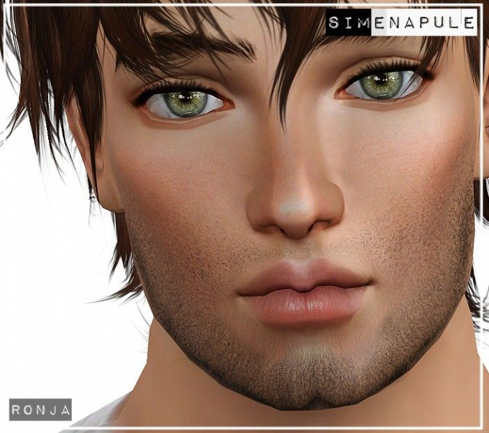 3 new beards by Ronja - CC Caboodle Sims 3 Downloads